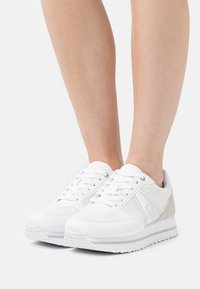 Benetton - BULL - Sneakers laag - white/silver - 0
