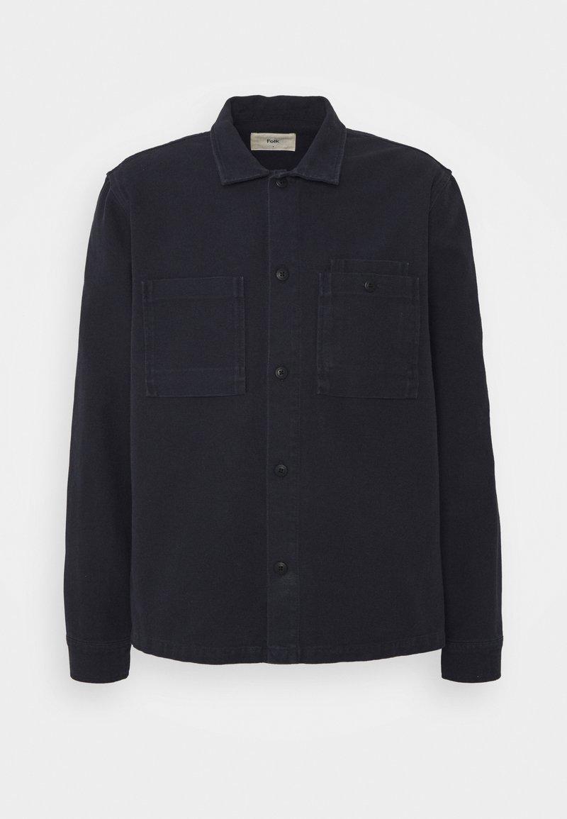 Folk - JACKET - Summer jacket - navy