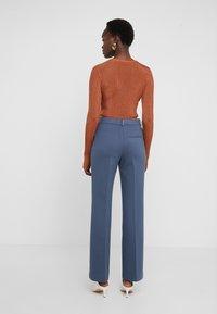 Filippa K - IVY TROUSER - Trousers - blue grey - 2