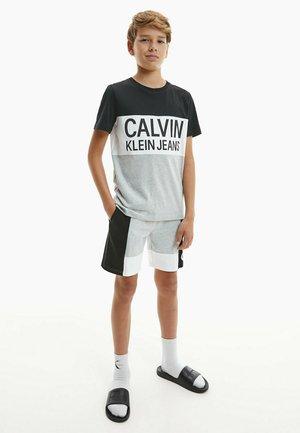 T-shirt print - ck black