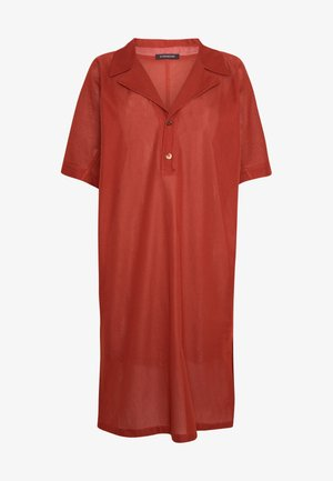 DRESS DALENA - Day dress - umber