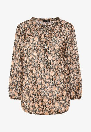 FLORAL SHIRT 31091107 - Pusero - black