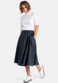 PETER HAHN - ROCK ROCK - A-line skirt - marine - 1