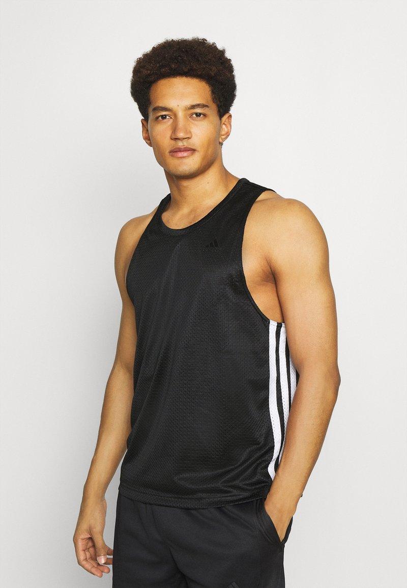 adidas Performance - SUMMER BASKETBALL PRO PRIMEGREEN TANK - Top - black