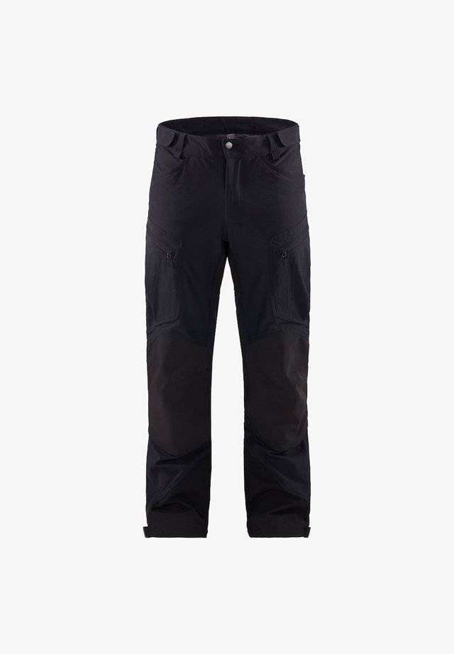 RUGGED MOUNTAIN PANT - Friluftsbyxor - true black solid