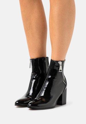 ONLBALIM ZIP HEELED BOOT  - Støvletter - black