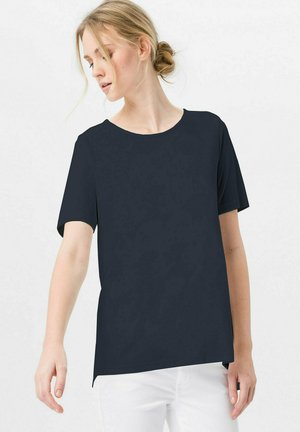 MIT RUNDHALSAUSSCHNITT - T-shirt basic - marine