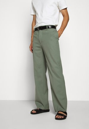 HAIJ SUMMER  - Trousers - dusk green