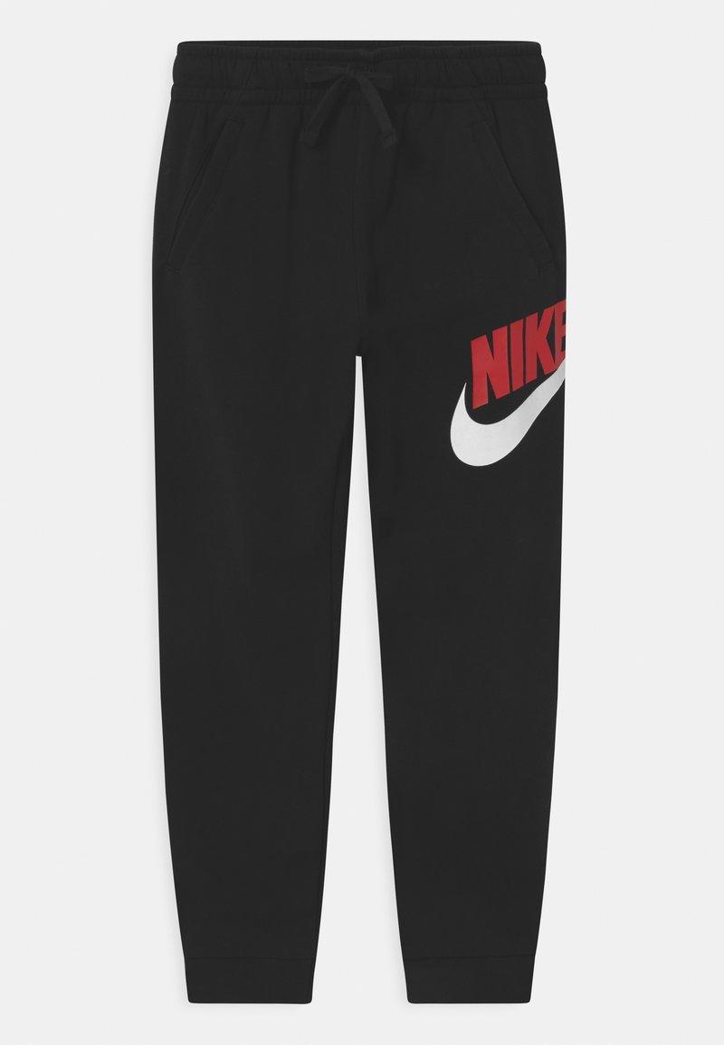 Nike Sportswear - CLUB PANT - Teplákové kalhoty - black/university red