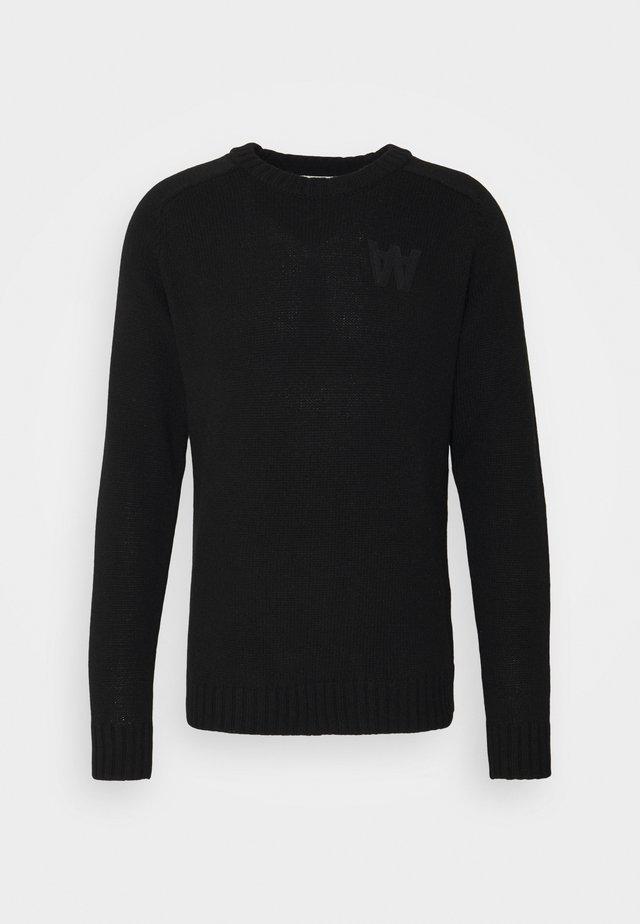 KEVIN - Pullover - black