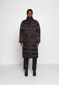 Culture - AISHA LONG - Down coat - black - 0