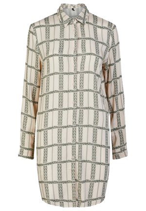 YASFLOCHA - Button-down blouse - beige