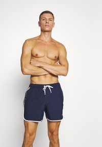 Björn Borg - SHAD - Swimming shorts - peacoat - 0