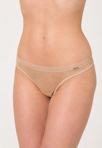 Gossard - GLOSSIES THONG - Thong - nude - 1