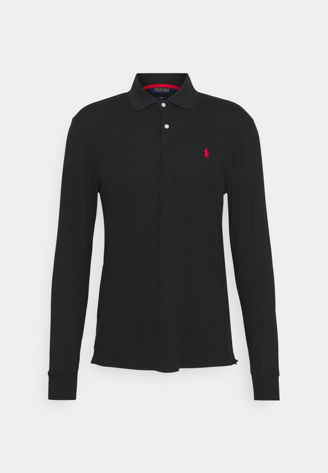 LONG SLEEVE - Polo shirt - black