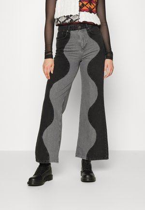 UNDERWORLD - Jeans relaxed fit - charcoal