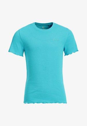 SLIM FIT  - T-Shirt basic - blue