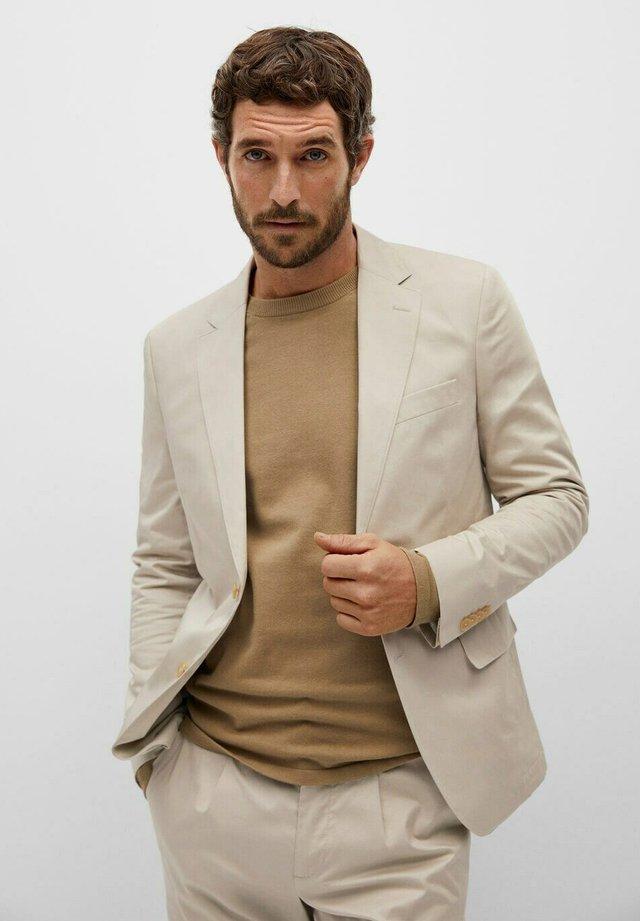 blazer - open beige