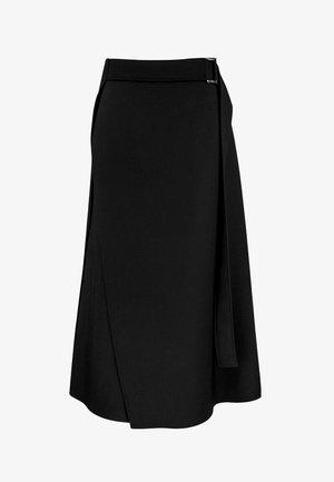 Spódnica trapezowa - czerń
