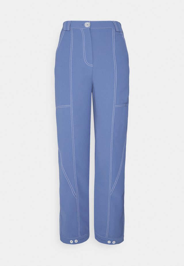 PANT - Trousers - washed blue