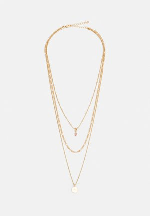 PCBLAKELEY COMBI NECKLACE - Collar - gold-coloured