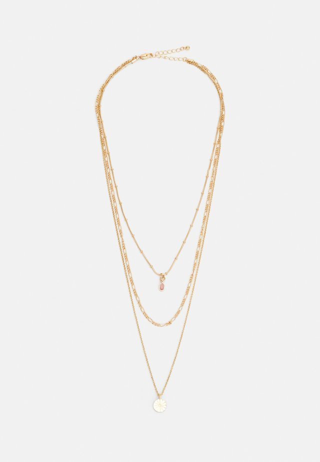 PCBLAKELEY COMBI NECKLACE - Ketting - gold-coloured