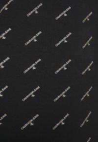 Calvin Klein Jeans - LOGO DRESS - Day dress - black - 5