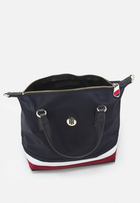 Tommy Hilfiger - POPPY SMALL TOTE - Handbag - navy corporate - 2