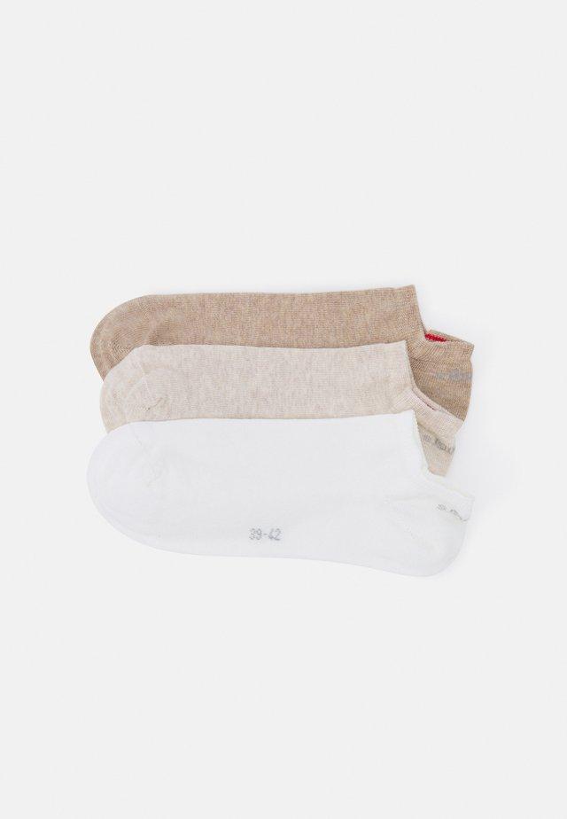 6 PACK - Trainer socks - nature melange