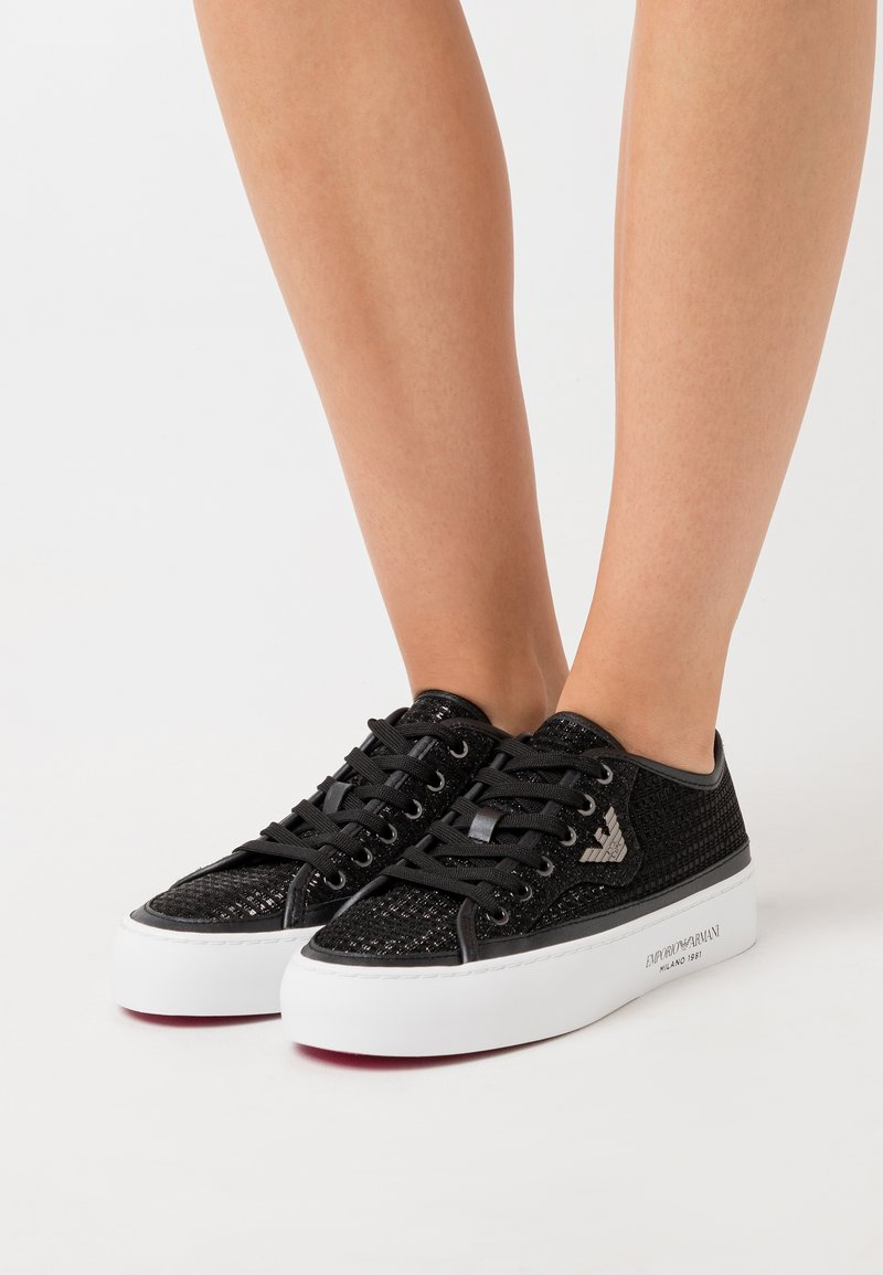 Emporio Armani - Zapatillas - black