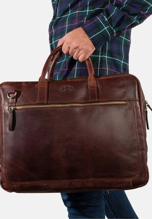 LAPTOPTASCHE - DIXON - Laptop bag - braun-cognac