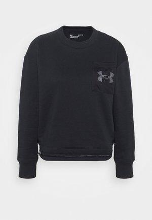 RIVAL CREW - Sweatshirt - black/white