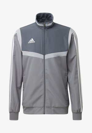 TIRO 19 PRESENTATION TRACK TOP - Veste de survêtement - grey/ white