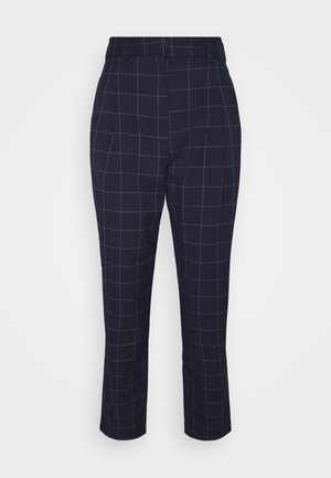 TYRA TROUSERS SCALE - Pantalones - blue navy