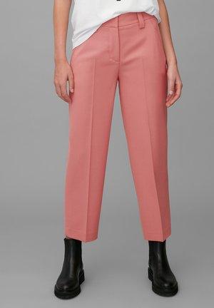 Trousers - hazy peach