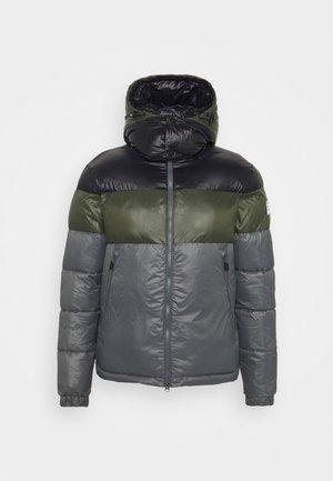 Winter jacket - dark grey/black