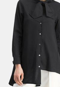 Nicowa - NIBOWA - Button-down blouse - schwarz - 3