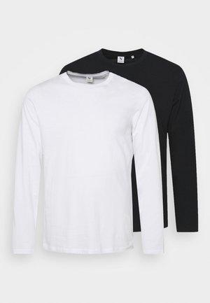 LONGSLEEVE 2 PACK - Long sleeved top - black