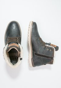 Mustang - Lace-up ankle boots - graphit - 1