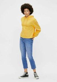 Pieces - Straight leg jeans - medium blue denim - 1
