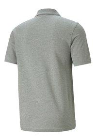 Puma - ESSENTIALS PIQUE  - Polo shirt - medium gray heather-cat - 4
