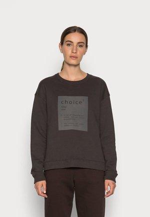 LLANESALF CHOICE WOMAN - Sweatshirt - asphalt