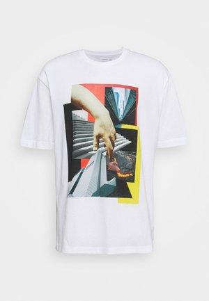BUILD - T-shirt con stampa - white