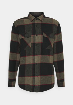 BOWERY - Camicia - black/olive