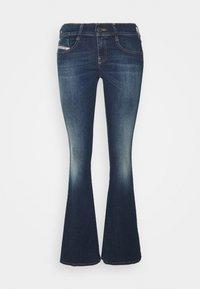 Diesel - D-EBBEY - Bootcut jeans - indigo - 5