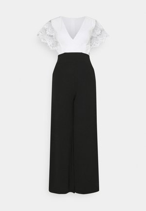 WILLOW - Tuta jumpsuit - black/white
