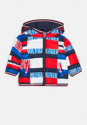 BABY PRINTED PUFFER JACKET - Winter jacket - blue
