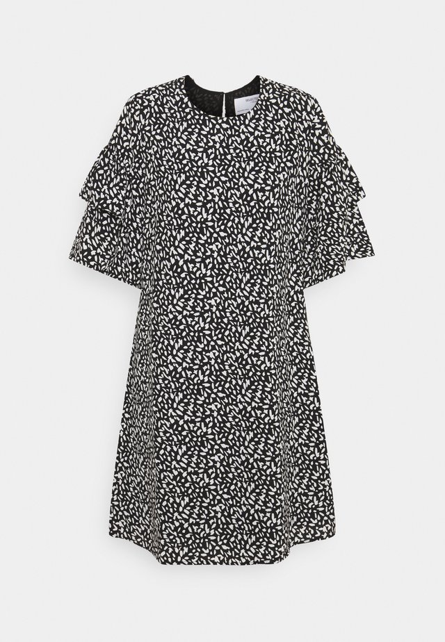 SLFCARLA DRESS - Vapaa-ajan mekko - black