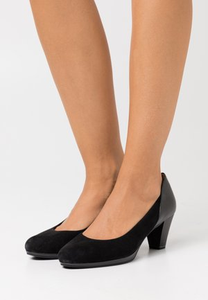 COURT SHOE - Tacones - black