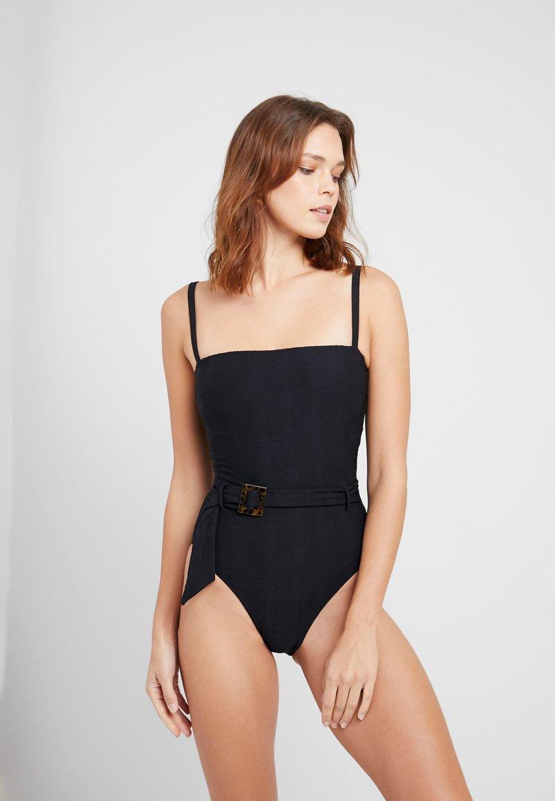 Seafolly - CAPRI MAILLOT - Swimsuit - black